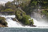 Switzerland, Schaffhausen, Rhine falls - WI000799