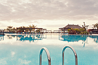 Spain, Canary Islands, La Palma, Fuencaliente, swimmingpool of a hotel - SEF000753