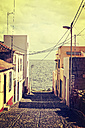 Spain, Canary Islands, La Palma, coastal town San Andres - MEM000249