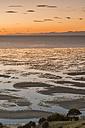New Zealand, Golden Bay, Puponga, dusk in Golden Bay - SHF001479