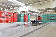 Germany, truck in a storage of a brewery - SCH000285