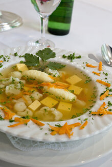 Traditional Westphalian soup in a restaurant - SEF000758