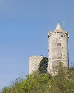 Germany, Saxony-Anhalt, Bad Koesen, Saaleck Castle - HAWF000340