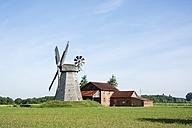 Germany, North Rhine-Westphalia, Petershagen, Petershagen-Bierde, Smock mill - HAWF000328