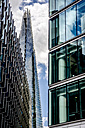 England, London, Southwark, view to 'The Shard' and two other office buildings at More London Riverside - WEF000157