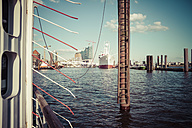 Germany, Hamburg, View of harbour - KRPF000575