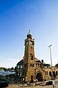 Germany, Hamburg, St Pauli, Clock tower - KRPF000584