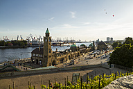 Germany, Hamburg, St Pauli Landing Stages - KRPF000595