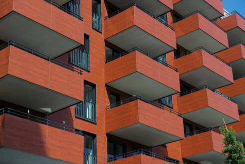 Germany, Hamburg, HafenCity, apartment building - VI000284