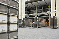Empty university library - WESTF019742
