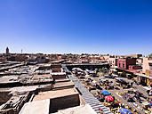 Morocco, Marrakech, View of the souq - AMF002460