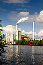 Germany, Berlin, Treptow, Rummelsburg, Cement works at Spree river - BIG000013