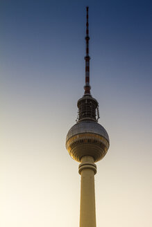 Germany, Berlin, Berlin-Mitte, view to television tower - BIG000020