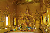 Thailand, interior view of the Golden Temple Wat Pho Thong - ZC000120