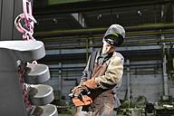Worker in a foundry - LYF000138