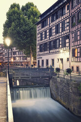 France, Strasbourg, barrage of River Ill in district Petite France - MEMF000265