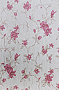 Wallpaper with pink floral design - EJWF000406