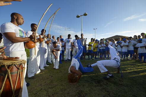 South America, Brazil, Bahia, Salvador da Bahia, Capoeira - FLK000362
