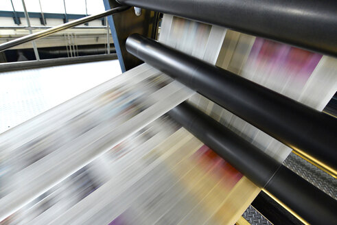 Printing of newspapers in a printing shop - SCH000368