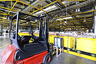 Forklift in a printing shop - SCH000356