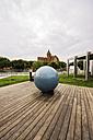 Spain, Barcelona, exterior of museum CosmoCaixa - THA000503