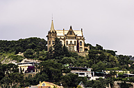 Spain, Barcelona, building at mountain Tibidabo - THAF000508