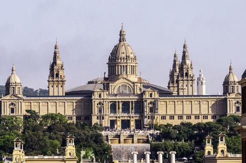 Spain, Barcelona, Palau Nacional - THAF000578