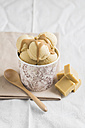 Homemade toffees and caramel icecream - ECF000704