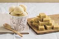Homemade toffees and caramel icecream - ECF000716