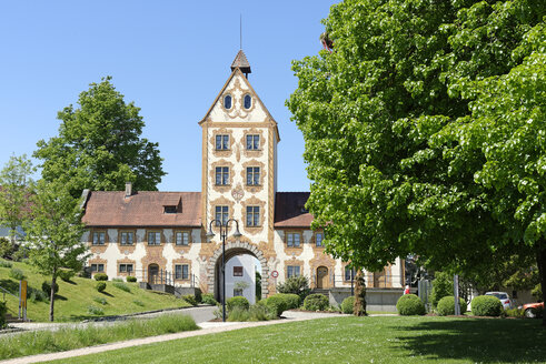 Germany, Baden-Wuerttemberg, Rot an der Rot, Upper Gate, Former Imperial Abbey - LB000796