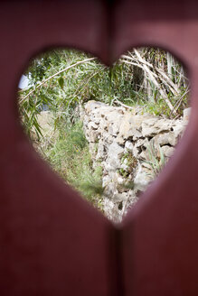 Portugal, Sintra, door with heart shape - FA000011