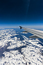 Aerial view, Flightplane over the Alps - AMF002538