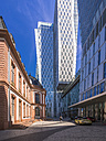 Germany, Hesse, Frankfurt, reconstructed Palais Thurn and Taxis in front of Jumeirah Frankfurt Hotel - AMF002587