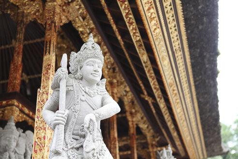 Indonesia, Bali, Pura Tirta Empul, statue of Tirta Empul Temple - FA000047