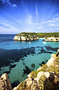 Spain, Balearic Islands, Menorca, Macarella, Cala Macarelleta - SMA000230