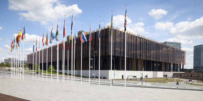 Luxembourg, Luxembourg City, European Quarter, European Court of Justice - WI000905