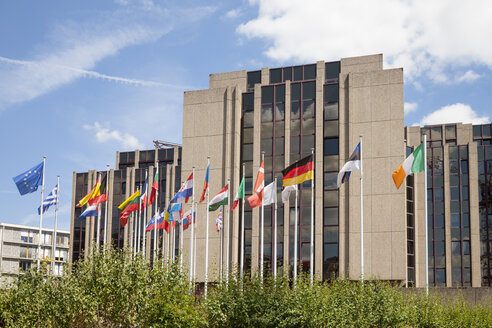 Luxembourg, Luxembourg City, European Quarter, European Court of Auditors - WIF000913