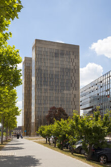 Luxembourg, Luxembourg City, European Quarter, office towers of European Court of Justice - WIF000915