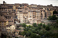 Italy, Tuscany, Siena, view to the city - SBDF001039