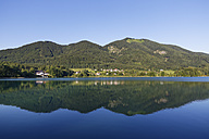 Austria, Salzburg State, Fuschlsee Lake, Fuschl am See and Mountain Filbing - SIEF005675