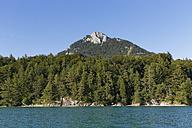 Austria, Salzburg State, Fuschl am See, Lake Fuschlsee, Mountain Schober with Frauenkopf - SIEF005681