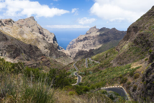 Spain, Canary Islands, Tenerife, Mountains on the north west coast - RJF000247