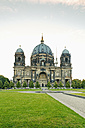 Germany, Berlin, view to Berlin Cathedral and pleasure garden - MEMF000342