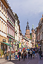 Germany, Baden-Wuerttemberg, Heidelberg, view to pedestrian area - WD002539