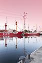 Germany, Hamburg, Hamburg-Harburg, Channel Hamburg, Harburg habour, Lightship Elbe 1 - MS004080