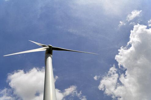Germany, Saxony-Anhalt, Wind turbine - LYF000220