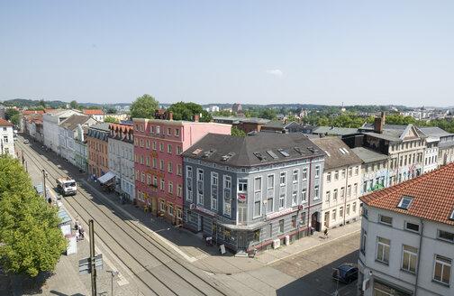 Germany, Schwerin, station square - MY000504