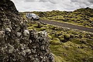 Iceland, Skaftareldahraun, Lava field, off-road vehicle - FC000286