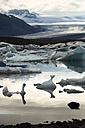 Iceland, Jokurlsarlon, glacier lake - FCF000452