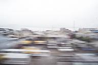 Japan, Tokyo, view to houses, long exposure - FL000460